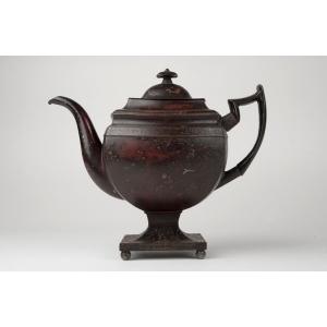Japanned Tea Pot         Bakers of Bilston